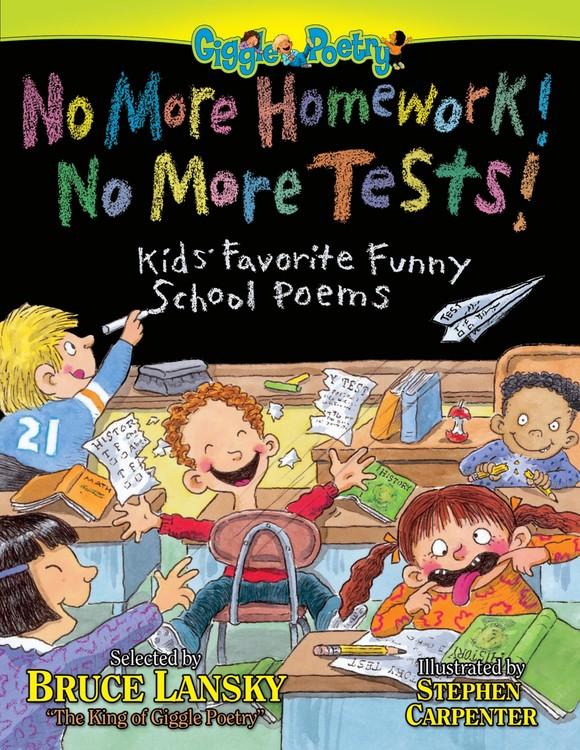 no more homework no more books